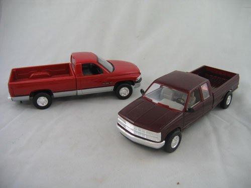 416106: 2 DEALER PROMO TRUCKS '95 CHEVROLET & '94 DODGE
