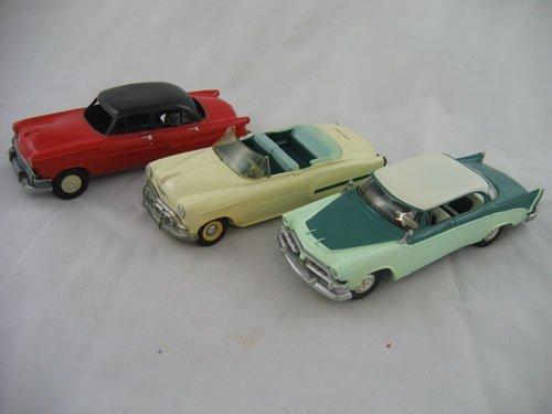 416114: 3 MODEL CARS 2 DEALER PROMO CARS '54, '56 +