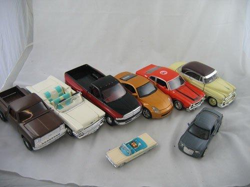 416115: 7 METAL MODEL CARS