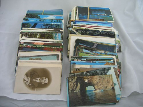 416123: 200+ TRAVEL POSTCARDS, MOSTLY '60S  '70S '80S +