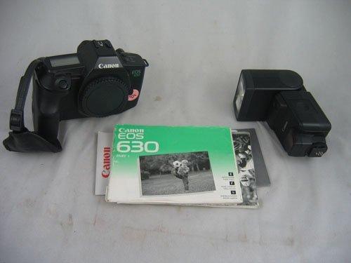 507105: CANON EOS 650 BODY WITH CANON 420 EZ SPEEDLIGHT