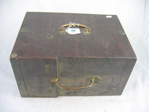 507107: UNUSUAL WOOD BOX DETECTIVE CAMERA