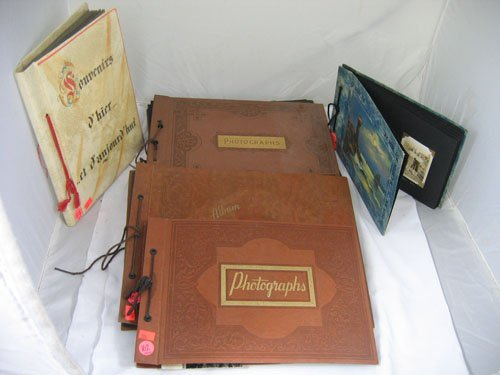 910102: 6 MILITARY PHOTO ALBUMS, FEATURES CANDID PHOTOS