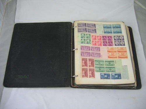 910106: US STAMP ALBUM, INCLUDES 1959 ARCTIC EXPLORATIO