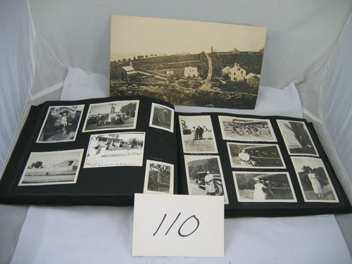 910110: EARLY 1930S PHOTO TRAVEL ALBUM FEATURING MOSTLY