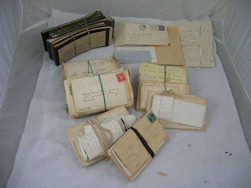 910116: CORRESPONDENCE FROM 1920S REGARDING SEARS FAMIL