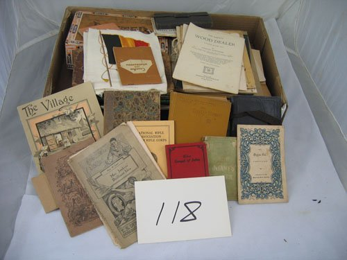 910118: GROUP OF RELIGIOUS ARTICLES, CHILDREN'S BOOKS,