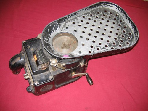 920108: STANDARD JOHNSON CO. INC COIN COUNTING MACHINE,