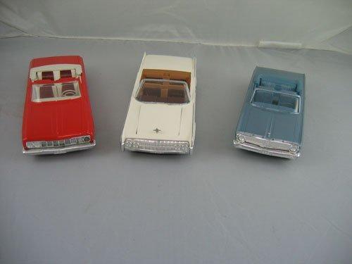 1119101: 3 DEALER PROMO CARS; 1964 RED CHRYSLER FURY, 1