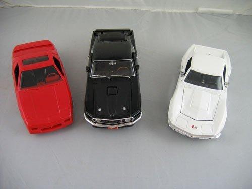 1119115: 3 DEALER PROMO CARS; 1969 BLACK FORD MUSTANG ©