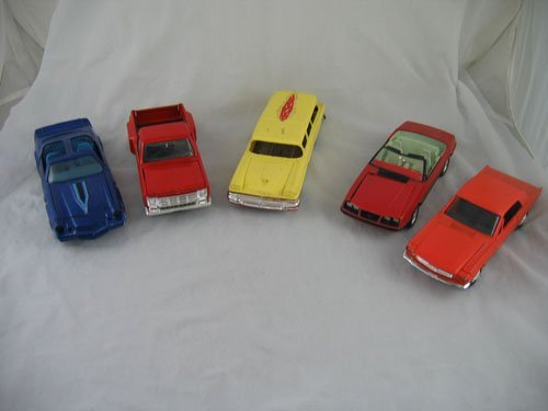 1203118: 2 DEALER PROMO CARS AND 3 OTHER COLLECTIBLE CA
