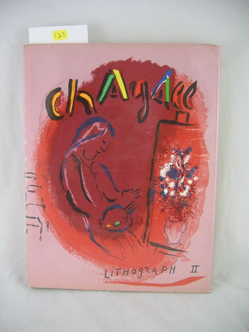 "1203123: ""CHAGALL LITHOGRAPH II"" ENGLISH ANDRE SAURET,"
