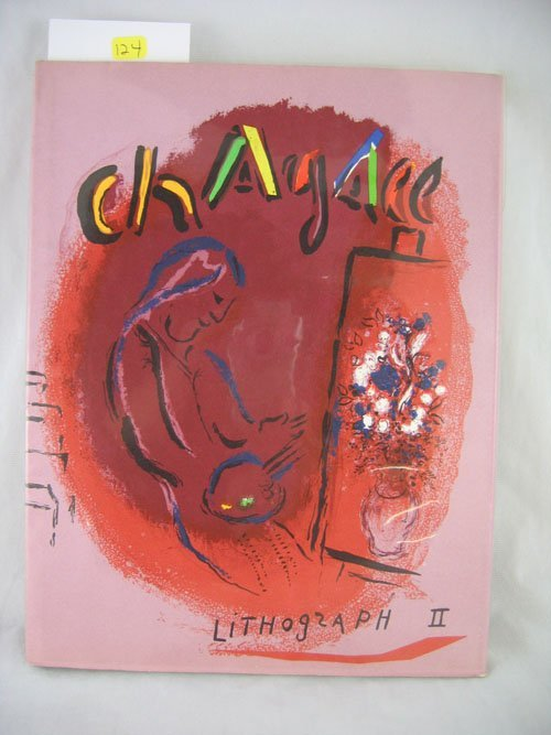 "1203124: ""CHAGALL LITHOGRAPH II"" ENGLISH ANDRE SAURET,"