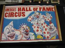 1203140 3 1930S CIRCUS POSTERS AMERICAS HALL OF FAME