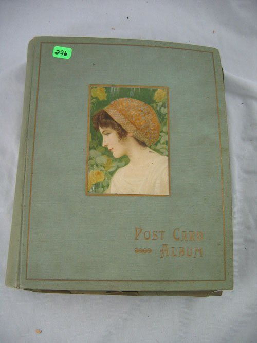1203276: LARGE POSTCARD ALBUM EASTHAMPTON, MA AND NEW Y