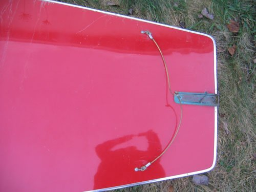 1210101A: RED AMF SUNFISH SAILBOAT COMPLETE WITH SAIL - 5