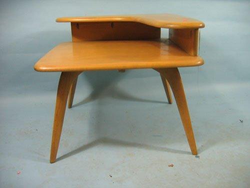 1210453: HEYWOOD WAKEFIELD BOOMERANG STEPDOWN TABLE, 25