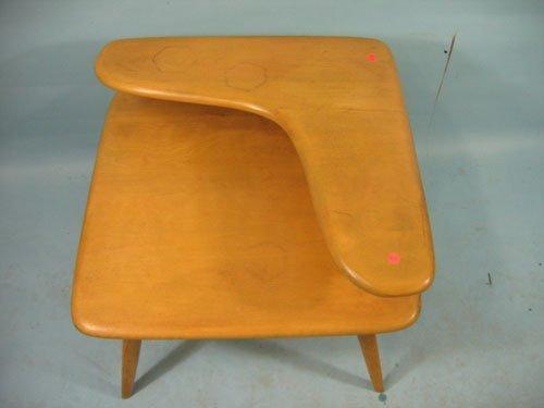 1210453: HEYWOOD WAKEFIELD BOOMERANG STEPDOWN TABLE, 25 - 2