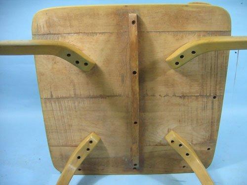 1210453: HEYWOOD WAKEFIELD BOOMERANG STEPDOWN TABLE, 25 - 3