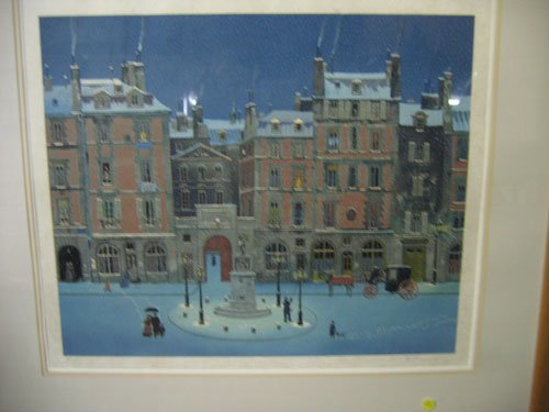 1217122: MICHEL DELACROIX PENCIL SIGNED PRINT