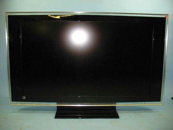 """2007 SONY MODEL KDL46XBR3 42"""" FLAT SCREEN TV"""