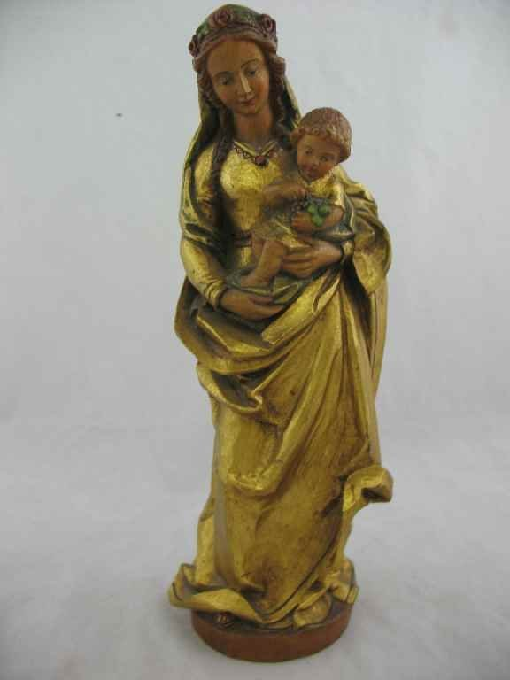 930108: ANRI- 40 YEAR ANNIVERSARY CARVED MADONNA 1952