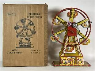 A J. CHEIN & COMPANY MECHANICAL FERRIS WHEEL NO. 172 IN