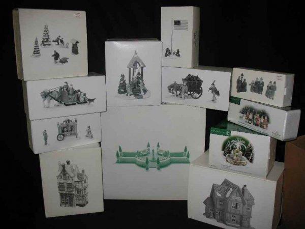 1209001: DEPARTMENT 56 CHRISTMAS VILLAGE 12 BOXES