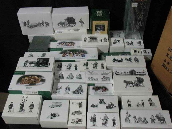 1209013: DEPARTMENT 56 CHRISTMAS VILLAGE 20+ BOXES
