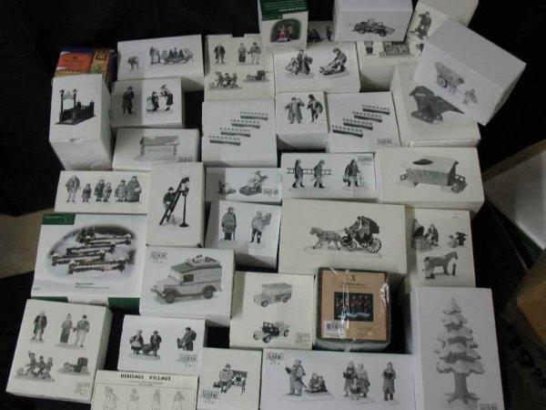 1209016: DEPARTMENT 56 CHRISTMAS VILLAGE 30+ BOXES