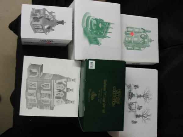 1209017: DEPARTMENT 56 CHRISTMAS VILLAGE 6 BOXES