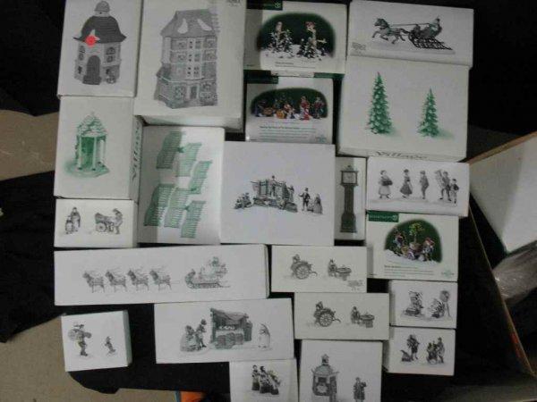 1209024: DEPARTMENT 56 CHRISTMAS VILLAGE 20+ BOXES