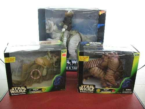 120101: 3 STAR WARS POWER OF THE FORCE PLAY SETS: RANCO