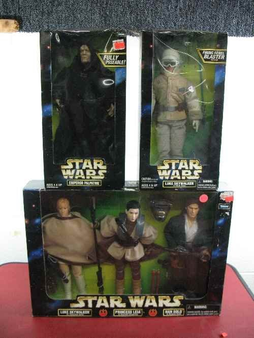 120102: 3 STAR WARS ACTION COLLECTION SETS: EMPEROR PAL