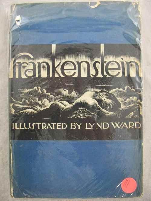 120111: FRANKENSTEIN ILLUSTRATED BY LYND WARD