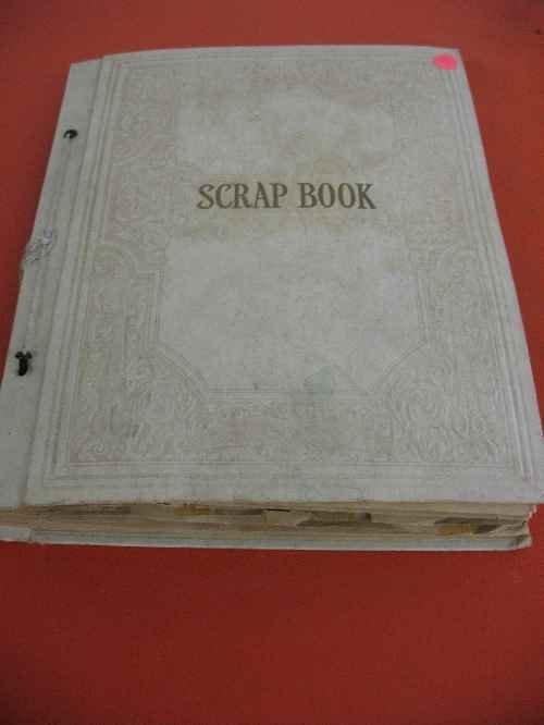 120121: SCRAP ALBUM OF MATCHBOOKS