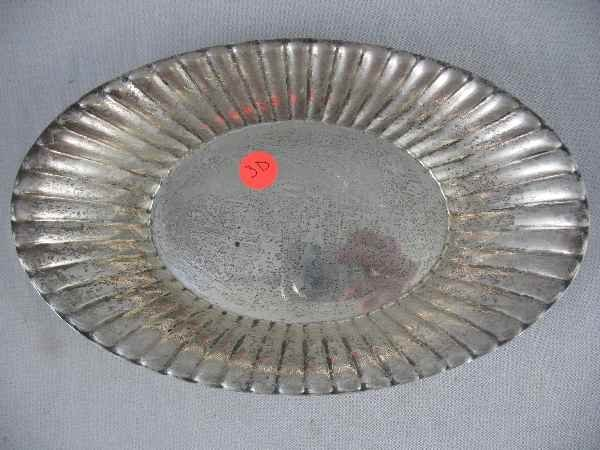 428003D: REED & BARTON STERLING SILVER DISH 9""