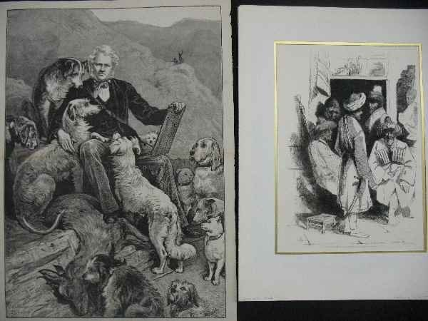 421110: COLLECTION OF PRINTS AND ENGRAVINGS 8 TOTAL