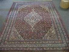 630001Y LARGE ANTIQUE PERSIAN AREA RUG 110 X 154