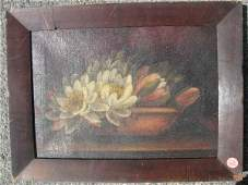 630062: OIL PAINTING BY THERESA BERNSTEIN STILL LIFE WI
