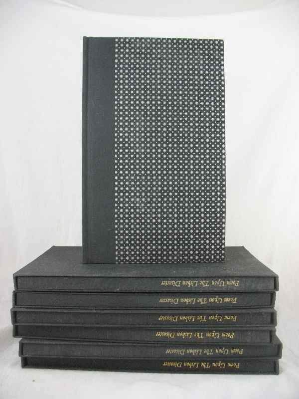 915001: (7) BOXED COPIES OF POEM UPON THE LISBON DISAST