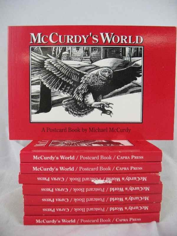 "915003: ""MCCURDY'S WORLD"" A POSTCARD BOOK BY MICHAEL MC"