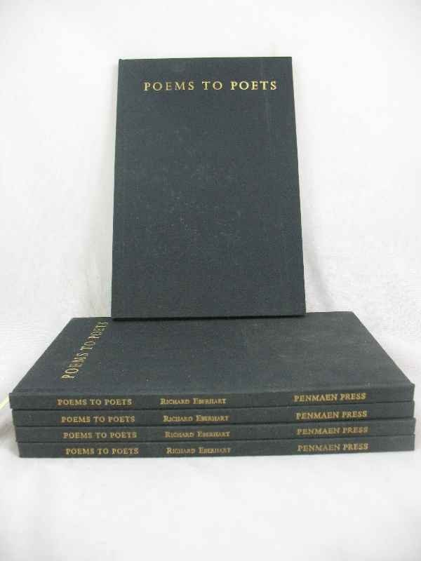 915009: POEMS TO POETS BY RICHARD EBERHART (5) COPIES P