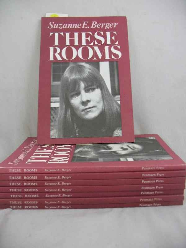 """915019: 8 COPIES """"THE ROOMS"""" BY SUZANNE E. BERGER 1ST E"""