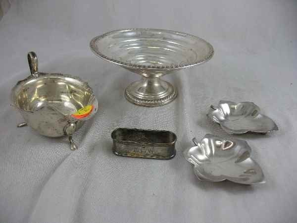 3260004: 5 PIECES OF STERLING SILVER INC 2 TIFFANY NUT