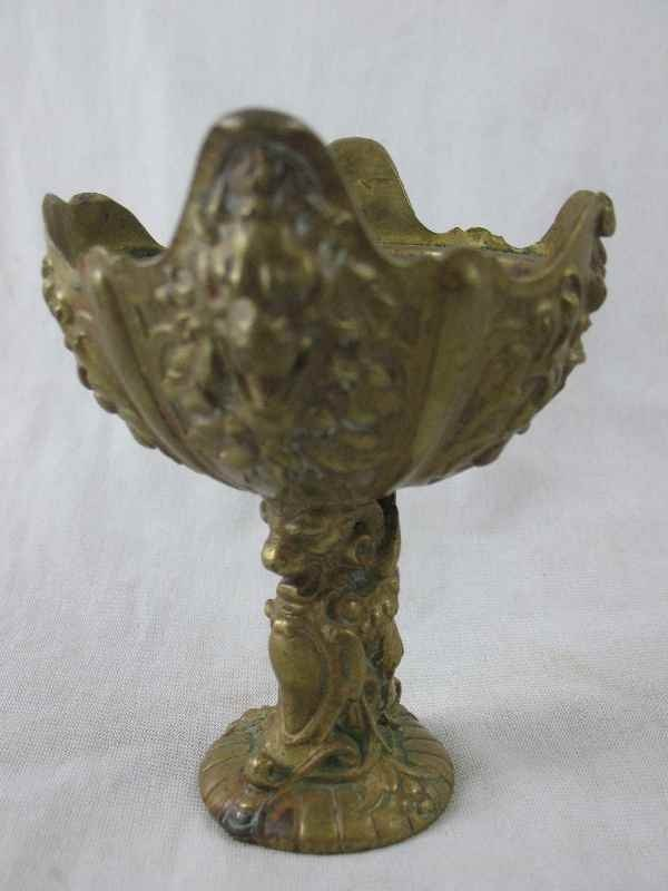 3260009: BRONZE  CHALICE BY CHRISTOFLE