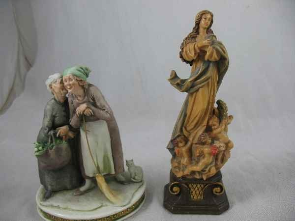 """3260022: 1961 S CAPPE PORCELAIN FIGURAL GROUPING, """"THE"""