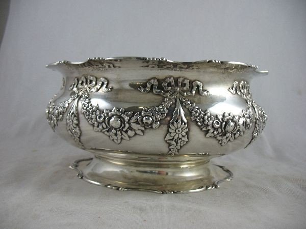 "5250115C: BAILEY BANKS AND BIDDLE STERLING SILVER 9""D R"