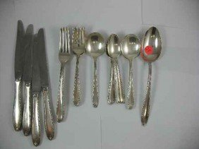 22 PIECES ALVIN SOUTHERN CHARM STERLING FLATW