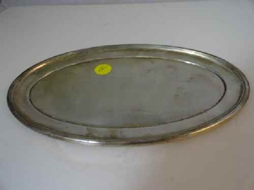 12210008: ALVIN STERLING TRAY TOGETHER W/ CASED SET OF
